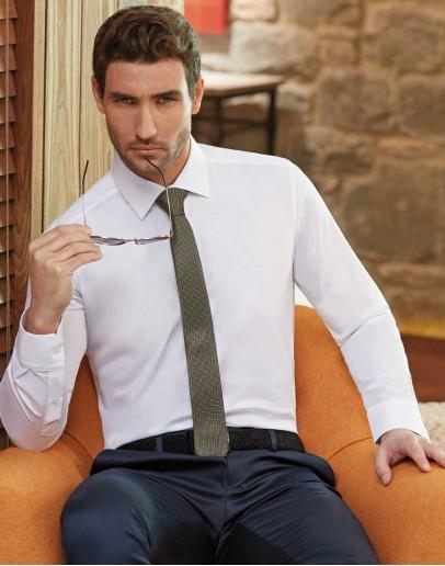 Slim Fit White Shirt